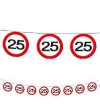 25-ös sebességkorlátozó füzér