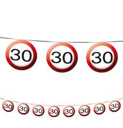 30-as sebességkorlátozó füzér