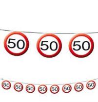 50-es sebességkorlátozó füzér