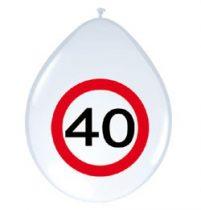 40-es sebességkorlátozó lufi, 8 db/csomag