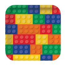 LEGO tányér, 8 db/csomag