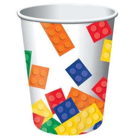 LEGO pohár, 8 db/csomag