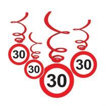 Sebességkorlátozó 30-as függődekoráció