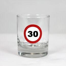Sebességkorlátozó 30-as whiskey-s pohár