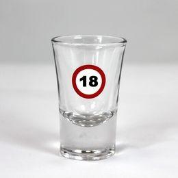 Sebességkorlátozó 18-as feles pohár