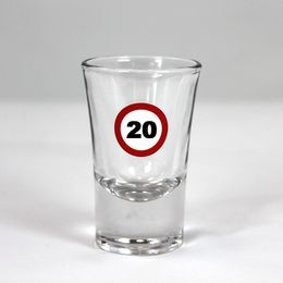 Sebességkorlátozó 20-as feles pohár