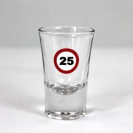 Sebességkorlátozó 25-ös feles pohár