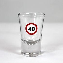 Sebességkorlátozó 40-es feles pohár