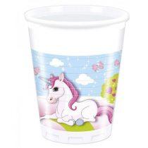 Unikornis pohár, 8 db/csomag