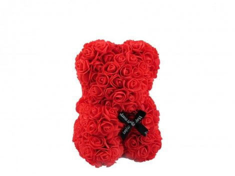 Rózsa maci piros, 25 cm