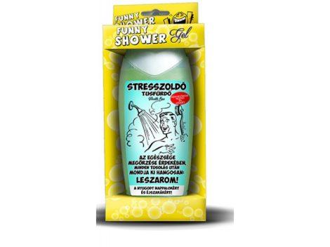 Stresszoldó tusfürdő