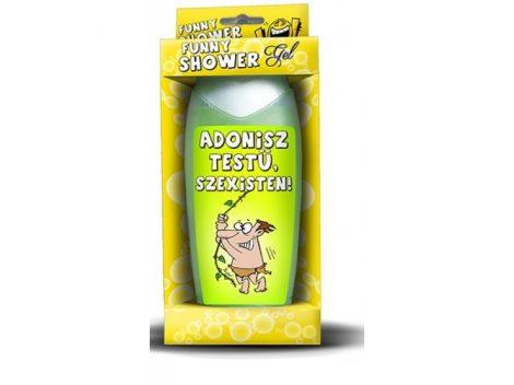Adonisz testű tusfürdő