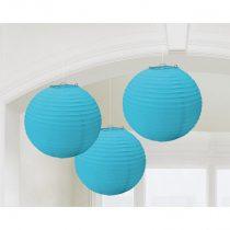 Kék gömb lampion, 3 db/csomag