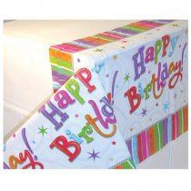 Radiant Happy Birthday asztalterítő