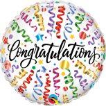Gratulálunk! feliratú lufik