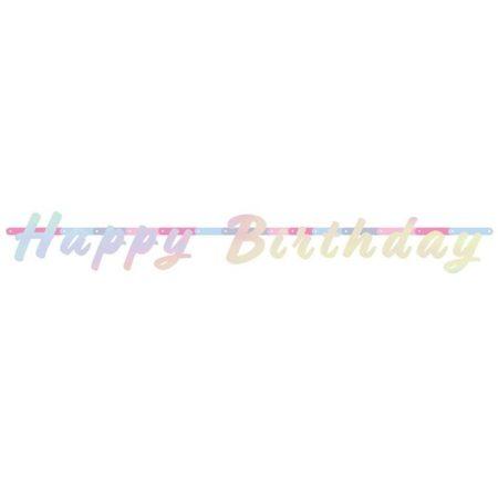 Holografikus Happy Birthday felirat, 1,3 méter
