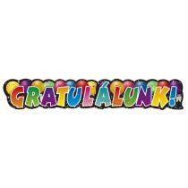 Gratulálunk! banner