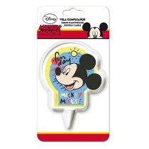 Mickey egér mintás tortagyertya