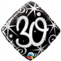 46 cm-es elegáns 30-as fólia lufi