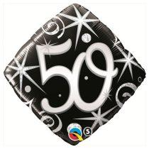 46 cm-es elegáns 50-es fólia lufi