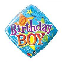 46 cm-es Birthday Boy fólia lufi